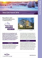 Time_Care_Award_2015_Bergviken_Lulea